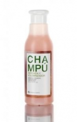 champú anticaida, volumen, brillo